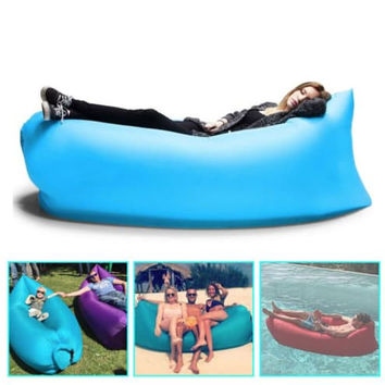 """""""NEW"""" Portable Inflatable Air Bed Sofa ( Watch Video )"""