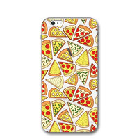 Pizza Case for iPhone 7 7Plus & iPhone se 5s 6 6 Plus Best Protection Cover-0323