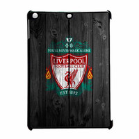 Liverpool FC Wood Style iPad Air Case