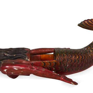 Wood Mermaid, Figures & Carvings