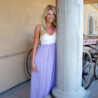 Sunset in Paradise Maxi - Lilac