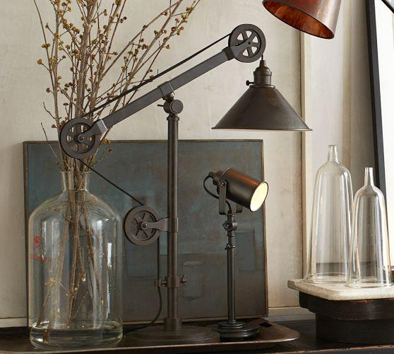 Warren Pulley Task Table Lamp From Pottery Barn Great Items