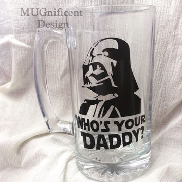 """DAD, Beer Mug                                                   """"who's your daddy"""""""