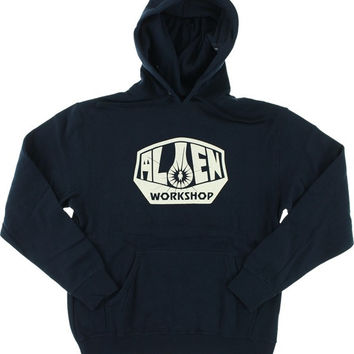 Alien Workshop Og Logo Hoodie/Sweater Medium Navy