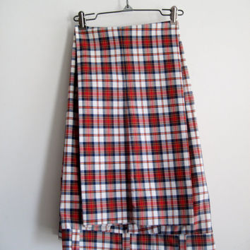 Vintage Caddyshack Mens Plaid Pants Retro Groovy Cotton 70s Golf Trousers Halloween
