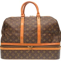 Authentic LOUIS VUITTON Monogram Sac Sport Travel Bag M41444 LV U3085ZBOB5