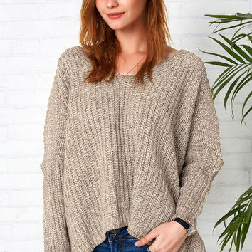 Cupshe Give It You Best Knitting Casual Sweater