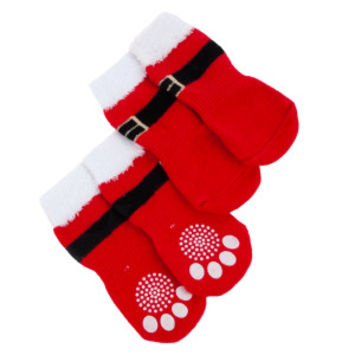 Top Paw® PetHoliday™ Santa Socks