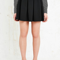 Cooperative Box Pleat Textured Skirt - Urban Outfitters