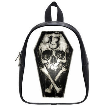 Backpacks by Shayne of the Dead, Gothic, Skull, Plaid, 13, goth, punk