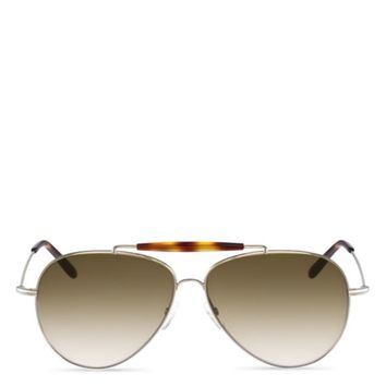 Valentino Aviator Sunglasses, 61mm | Bloomingdales's