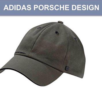 Porsche Design Sport by adidas P'5000 Pro Stretch Cap Hat Grey Blend BNWT X12372