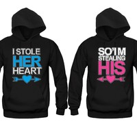 I Stole Her Heart - SO'IM Stealing His Unisex Couple Matching Hoodies