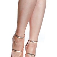 Rose Gold Faux Patent Leather Single Sole Heels @ Cicihot Heel Shoes online store sales:Stiletto Heel Shoes,High Heel Pumps,Womens High Heel Shoes,Prom Shoes,Summer Shoes,Spring Shoes,Spool Heel,Womens Dress Shoes