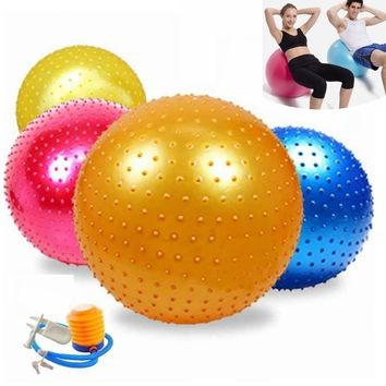 NEW PVC Thickening Explosion Proof Fitness Yoga Exercise Ball