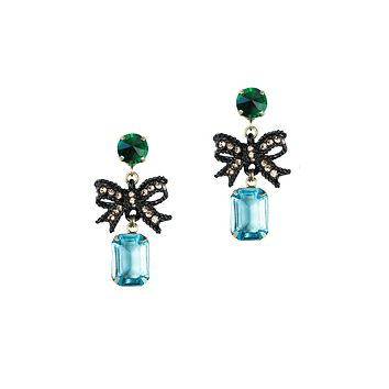 BETTY BOW DROP EARRINGS
