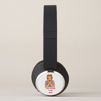 Pop Art House-Wife Headphones