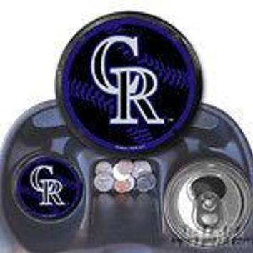 Colorado Rockies 2-pack Coaster Air Freshener Auto Car Truck Baseball