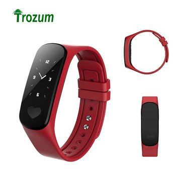 Trozum New B9 ECG Monitor Intelligent Bracelet Workout Arm Band with Pedicure Heartbeat Smartband Active Tracker Blood Pressure