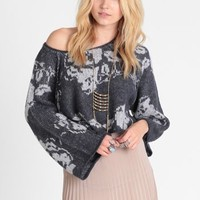 Purple Rain Pullover In Graphite By Free People