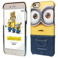 Cute Minions Cartoon iPhone Case for iPhone 6/6plus