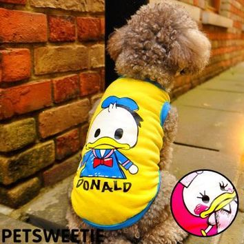 Duck Winter Warm Waterproof Dog Clothes Snowflake pet dog costume Chihuahua Yorkshire dog Coat cat clothes jacket Hoodie