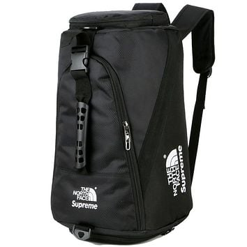 The North Face X Supreme  Fashion Casual Backpack Travel Bag Handbag
