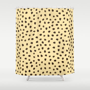 Shower Curtain - Cheetah Print - Animal Print Shower Curtain - Teen Shower Curtain - Girls Shower Curtain - Bathroom Decor - Gift Ideas