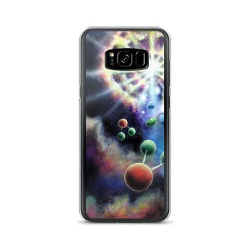 Samsung phone case All models cool space - First Days by Vincent Monaco