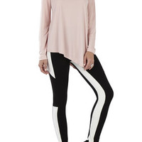 Lesli Long Sleeve Asymmetrical Top