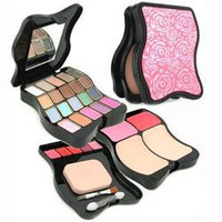 Fashion MakeUp Kit 62201: 2x Powder+ 2x Blush+ 20x Eyeshadow+ 5x Lip Color+ 3x Applicator -