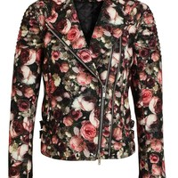 GIVENCHY   Floral Felt Wool Bomber Jacket   Browns fashion & designer clothes & clothing