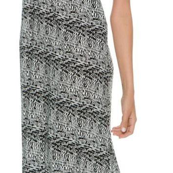 ARK & CO SHAVONDA PRINTED MAXI DRESS