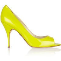 Brian Atwood Carla patent-leather pumps – 50% at THE OUTNET.COM