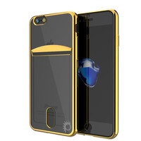 iPhone 7+ Plus Case, PUNKCASE® LUCID Gold Series | Card Slot | SHIELD Screen Protector | Ultra fit