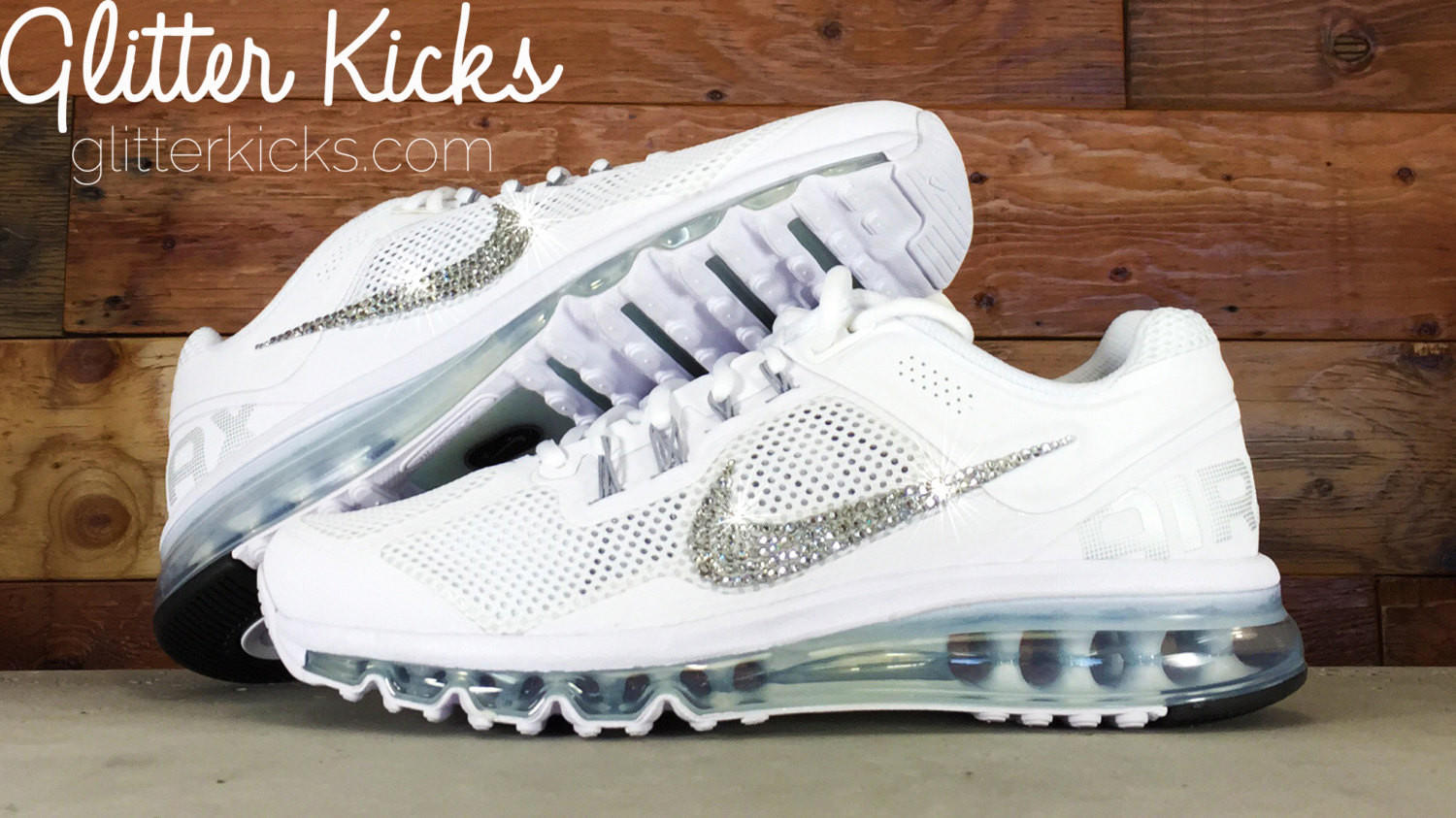 Nike Air Max 360 Running Shoes By Glitter from Glitter Kicks 7c70baab79dd