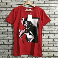 givenchy Hot letters print T-shirt top