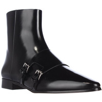 MICHAEL Michael Kors Laura Sleek Pointed Toe Ankle Boots - Black