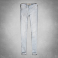 A&F Mid Rise Premium Stretch Jeggings