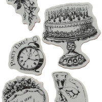 Graphic 45 | Hampton Art | Cling Stamps |  Select from 2 Styles | Time to Celebrate 2 or Time to Celebrate 3