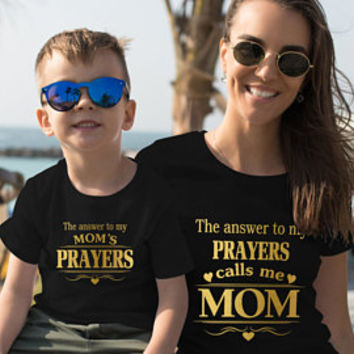 Mothers Day gift mommy and me shirts mom shirts mom daughter shirs mother's day shirt mom son shirt mom gift ideas