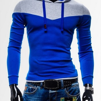 2015 Spring Fashion Mens Sweatshirts Sports Hoodies Stitch Design For Hip Hop Men Sexy Tracksuits Man Fleece Hoody Plus Size 4XL = 1958550660