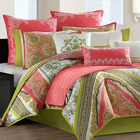 Echo Bedding, Gramercy Paisley Comforter Sets - Bedding Collections - Bed & Bath - Macy's