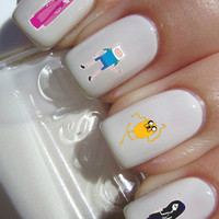 Adventure Time Nail Decals