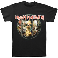 Iron Maiden Men's  Eddie Evolution T-shirt Black