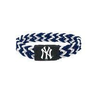 New York Yankees Bracelet Braided Navy and White