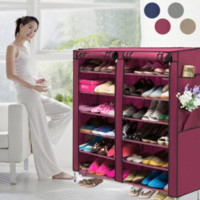 Shoe Rack Shelf Closet Organizer