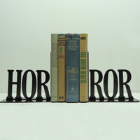 Horror Metal Art Bookends - Free USA Shipping