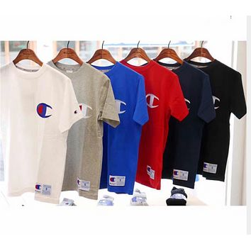 Champion 100% cotton sweat cloth washing and styling products Full Color