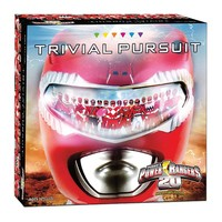 Trivial Pursuit Power Rangers 20th Anniversary Edition by USAopoly